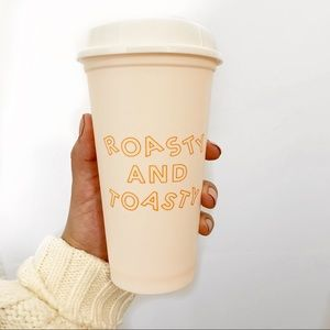 """2/$20 Starbucks """"Roasty and Toasty"""" hot cup"""